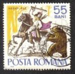 Stamps Romania -  Cuentos y Fabulas