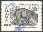 Sellos del Mundo : America : Panamá : Fauna nacional-puerco de monte
