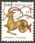 Sellos de Europa - República Checa -  Kozoroh-Capricornio