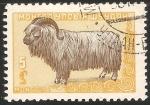 Sellos de Asia - Mongolia -  Cordero