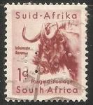Sellos de Africa - Sudáfrica -  Animales