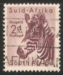 Sellos de Africa - Sudáfrica -  Equus zebra-