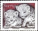 Sellos de Europa - Suecia -  Intercambio 0,35 usd 5 krone 1997
