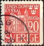 Stamps Sweden -  Intercambio 0,45 usd 20 ore 1946