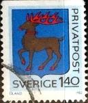 Sellos de Europa - Suecia -  Intercambio 0,20 usd 1,40 krone 1982