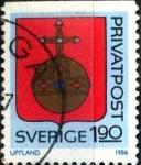 Sellos de Europa - Suecia -  Intercambio 0,20 usd 1,90 krone 1986