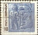 Sellos de Europa - Suecia -  Intercambio cr3f 0,20 usd 20 ore 1967