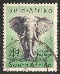 Stamps South Africa -  Elefante