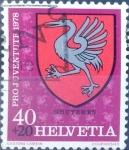 Sellos de Europa - Suiza -  Intercambio 0,25 usd 40 + 20 cent. 1978