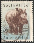 Sellos del Mundo : Africa : Sudáfrica : Rinoceronte