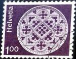 Sellos del Mundo : Europa : Suiza : Intercambio 0,20 usd 1,00 fr. 1974