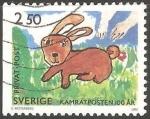 Sellos de Europa - Suecia -  Rabbit-Conejo