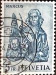 Sellos de Europa - Suiza -  Intercambio 0,20 usd 5 fr. 1961