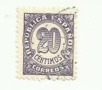 Sellos del Mundo : Europa : España : CIFRAS REPUBLICA ESPAÑOLA 1934