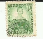 Sellos del Mundo : Europa : España : Mariana Pineda - REPUBLICA ESPAÑOLA