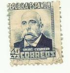 Sellos de Europa - España -  REPUBLICA ESPAÑOLA - Emilio Castelar