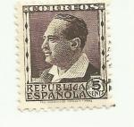 Sellos de Europa - España -  REPUBLICA ESPAÑOLA - Blasco Ibañez