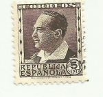 Stamps Europe - Spain -  REPUBLICA ESPAÑOLA - Blasco Ibañez