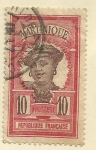 Stamps : Europe : France :  FRANCIA COLONIAS - MARTINICA