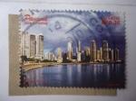 Stamps Panama -  Bahia de Panamá. - Panamá País turístico