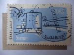 Stamps Israel -  Tiberias - Israel.