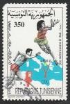 Sellos de Africa - Túnez -  Juegos del Mediterráneo, en Bari