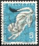 Stamps Switzerland -  Pro Juventute-armiño