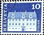 Sellos de Europa - Suiza -  Intercambio 0,20 usd 10 cent. 1968