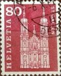 Sellos de Europa - Suiza -  Intercambio 0,20 usd 80 cent. 1960