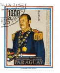 Stamps America - Paraguay -  General Alfredo Stroessner. Presidente de Paraguay  1978-1983