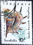 Stamps : Europe : Tanzania :  Intercambio 0,45 usd 10 sh. 1992