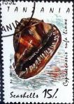 Stamps : Europe : Tanzania :  Intercambio 0,55 usd 15 sh. 1992