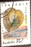 Stamps : Europe : Tanzania :  Intercambio 0,75 usd 35 sh. 1992