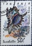 Sellos del Mundo : Europa : Tanzania : Intercambio 1,10 usd 50 sh. 1992