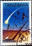 Sellos de Europa - Tanzania -  Intercambio nfxb 0,35 usd 10 sh. 1992