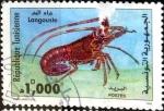 Stamps Tunisia -  Intercambio nfxb 1,10 usd 1000 m. 1998