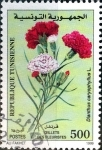 Stamps : Africa : Tunisia :  Intercambio 0,55 usd 500 m. 1999
