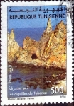 Stamps : Africa : Tunisia :  Intercambio 0,45 usd 500 m. 2001
