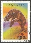 Sellos del Mundo : Africa : Tanzania : Uintatherium-