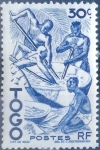 Stamps : Africa : Togo :  Intercambio nfxb 0,55 usd 5 cent. 1976