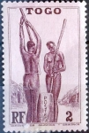 Stamps : Africa : Togo :  Intercambio crxf 0,20 usd 2 cent. 1941