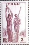 Stamps : Africa : Togo :  Intercambio nfxb 0,20 usd 2 cent. 1941