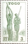 Stamps : Africa : Togo :  Intercambio nfxb 0,20 usd 3 cent. 1941