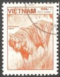 Stamps Vietnam -  Panthera tigris-tigre