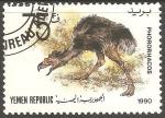 sello : Asia : Yemen : Phorusrhacos-