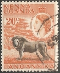 Sellos del Mundo : Africa : Kenya : Tanganka-leon