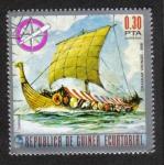 Sellos de Africa - Guinea Ecuatorial -  Barcos (I) pioneros del mar