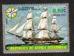 Stamps Equatorial Guinea -  Buques ( II ) de la vela y de vapor