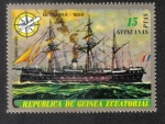 Sellos de Africa - Guinea Ecuatorial -  Buques ( II ) de la vela y de vapor