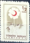 Stamps : Asia : Turkey :  Intercambio 0,50 usd 1/2 k. 1957